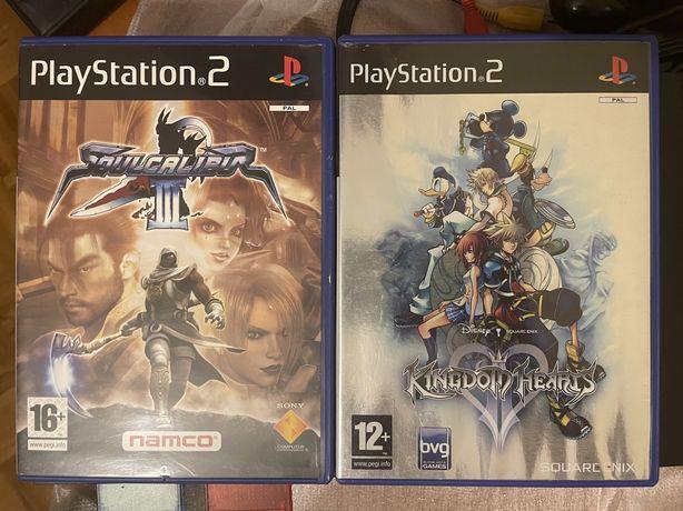 Soulcalibur III e Kingdom of Hearts II - Ps 2