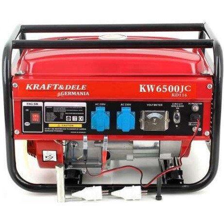 Бензиновый генератор KRAFT&Dele KW-6500JC