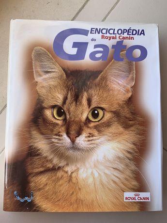 Livro Encoclopédia do Gato - Royal Canin