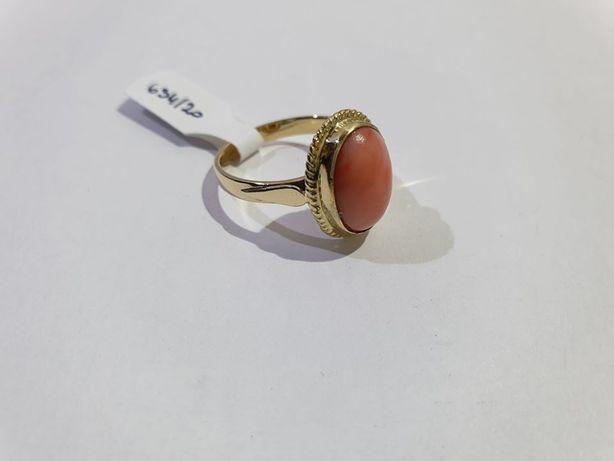 Pierścionek złoty, Złoto 14 KT, Lombard Jasło Czackiego