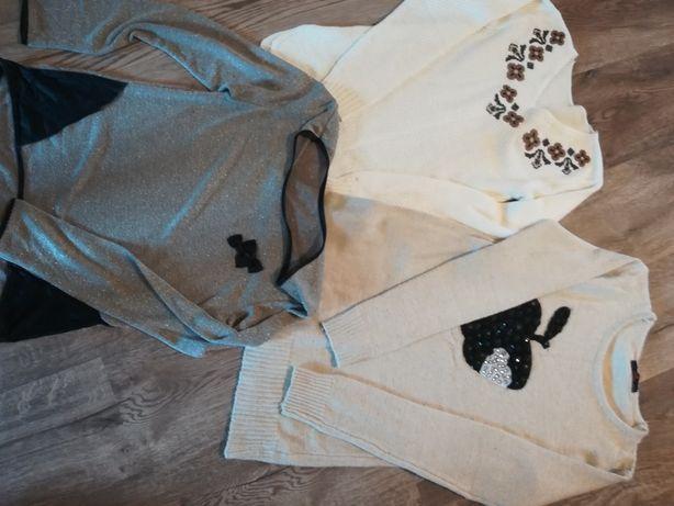 Tunika, sukienka, sweter. S. Zestaw.