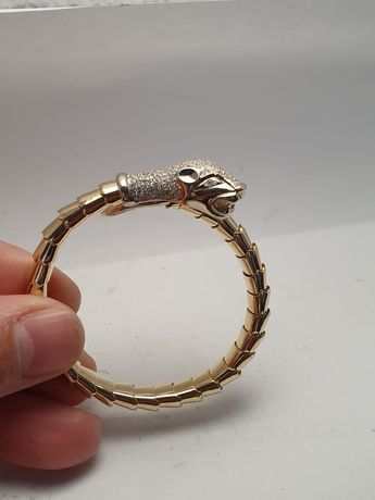 Внимание, эксклюзив! золотой браслет с бриллиантами cartier