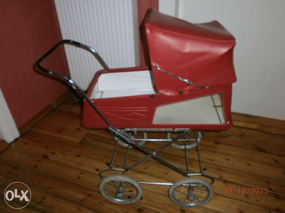 Wozek dla lalek vintage Niemiecki DDR 30 letni