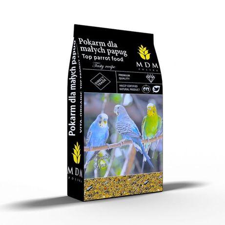 Karma MDM 10 kg papuga mała dla falistych, nierozłączek, łąkówek