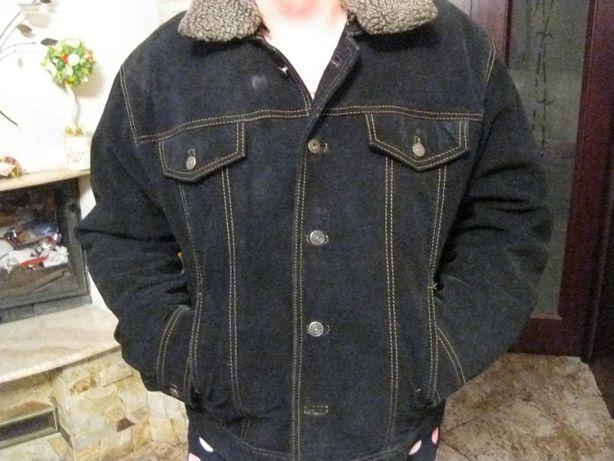 мужская замшевая куртка CALVIN COOPER