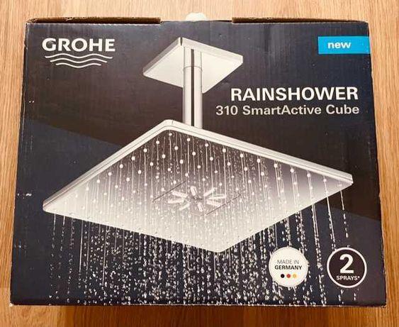 Deszczownica Grohe Rainshower 310 SmartActive Cube 31 cm