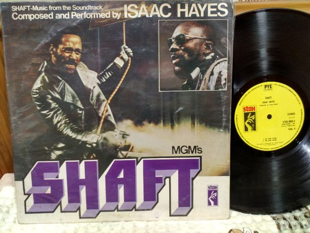 Isaac Hayes - Shaft 2LP UK