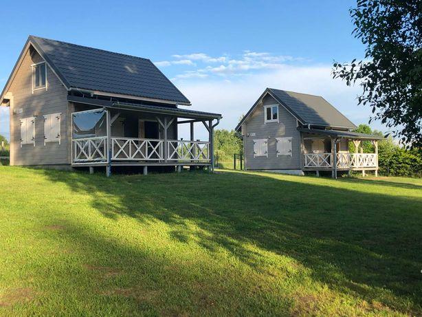 Domki letniskowe Mazury - nowe, ogrzewane domki nad jeziorem Rydzówka