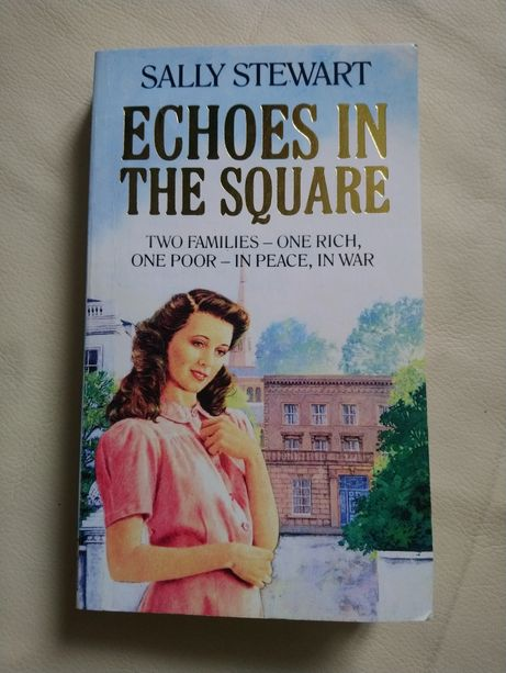 Книга Sally Stewart Echoes in the Square