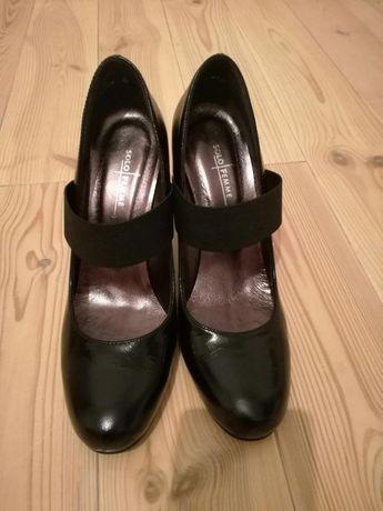Buty skorzane czółenka
