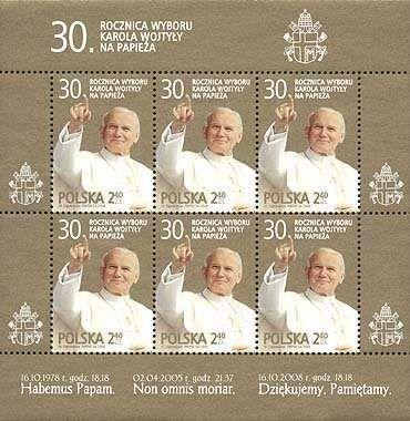 Arkusik-4251-30r. wyboru Karola Wojtyły na papieża