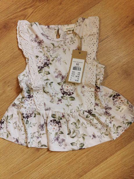 Tunika sukienka bluzka Newbie rozm 92