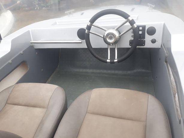 Łódz motorowa Kasia