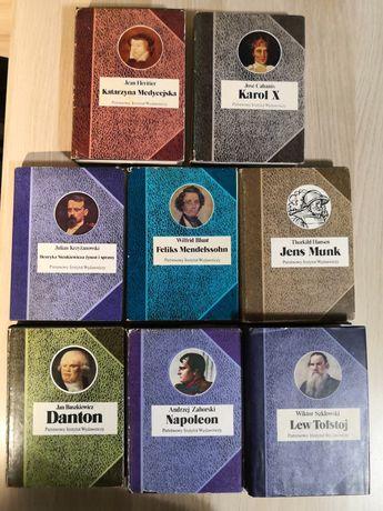 Biografie sławnych ludzi piw Napoleon, Danton, Karol X, Tołstoj piw
