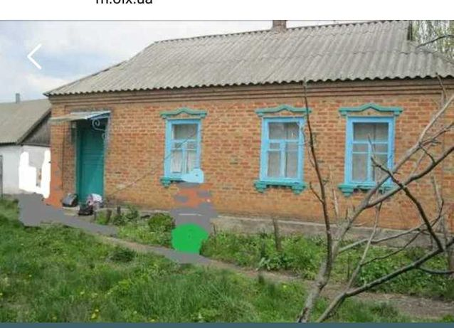 Продам свой дом  с. Красное,харьковская область.