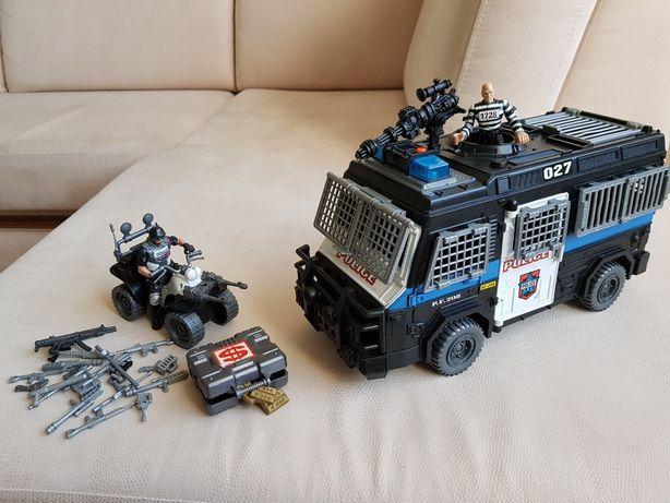 Игровой полицейский набор с сиреной.