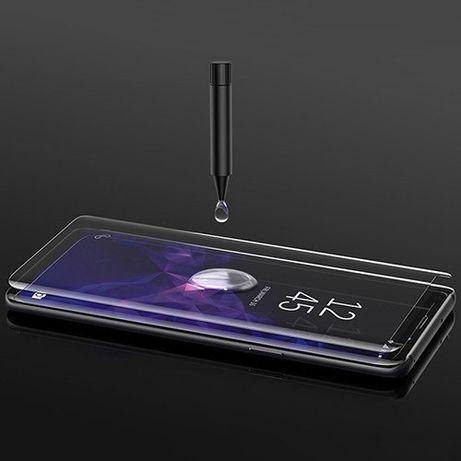 Защитное У.Ф. стекло Samsung S8, S9, S10, NOTE