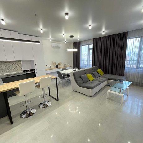 Квартира с авторским РЕМОНТОМ и потрясающим видом на МОРЕ/две спальни