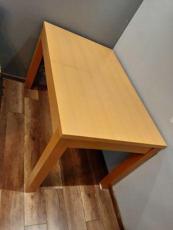 OKAZJA! Stół rozkładany + 4 krzesła w kolorze bukowym