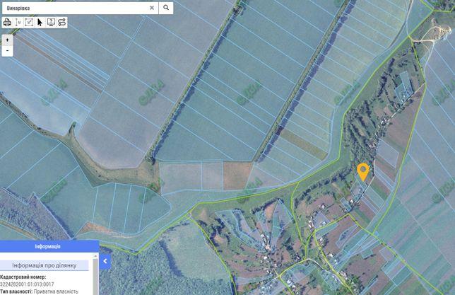 Участок землі 0,25Га в Київській області