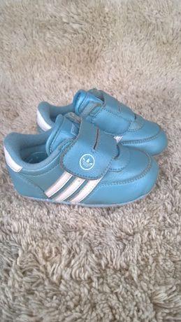 12 см 19 размер Adidas кроссовки пинетки