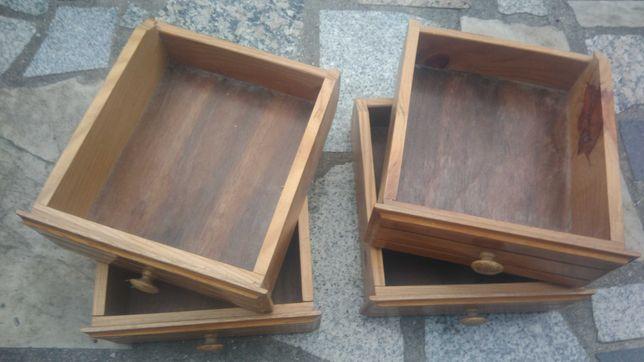 4 gavetas em madeira - Bricolage