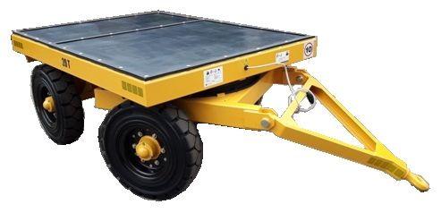 Przyczepa do wózka tonażowa platformowa transport zakładowy