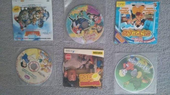 Bajki dla dzieci VCD I DVD TANIO!!! Białystok - image 1