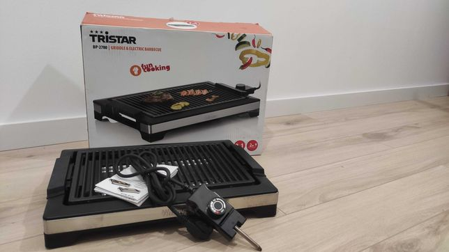 Tristar Elektryczny grill z rusztem, 2000W 37 x 25 cm