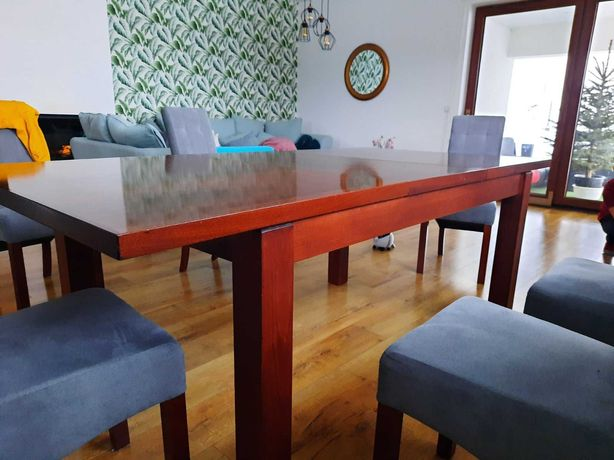 Stół drewniany rozkładany