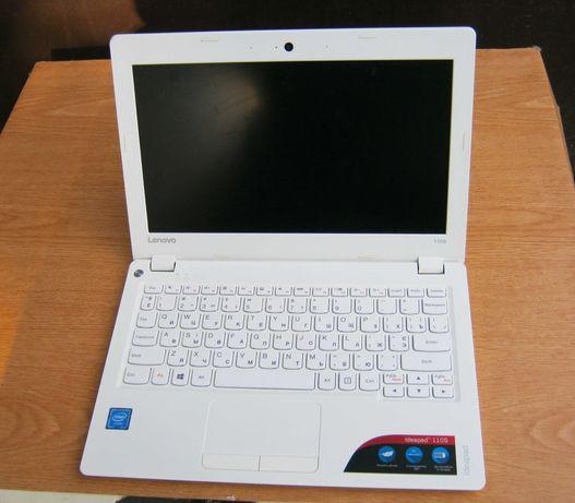 Lenovo ideapad 110S-11IBR White (отличный аккумулятор)