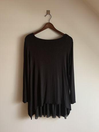 Zestaw tunika sweter sukienka czarny Emilie Emilieatelier nowy