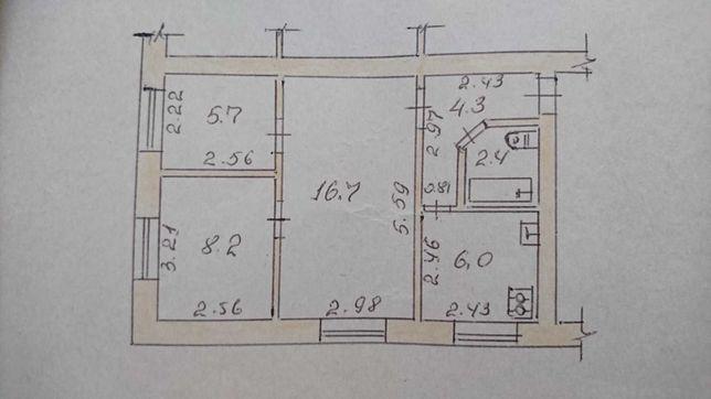 3-кімн.квартира