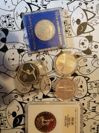 Zestaw monet kolekcjonerskich