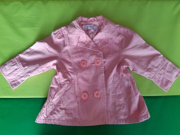 płaszczyk dla dziewczynki, rozmiar 74