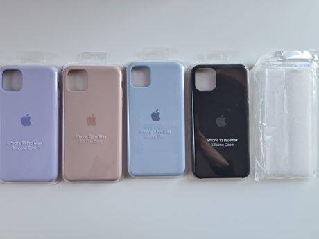Etui case na iphone 11 pro max 12 pro max 11promax 12promax z jabłkiem