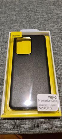 Samsung S20 ultra Case Baseus ultra cienkie slim
