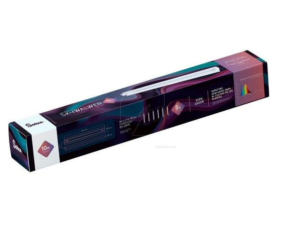 Kit Iluminação crescimento LED T8 10W 60cm