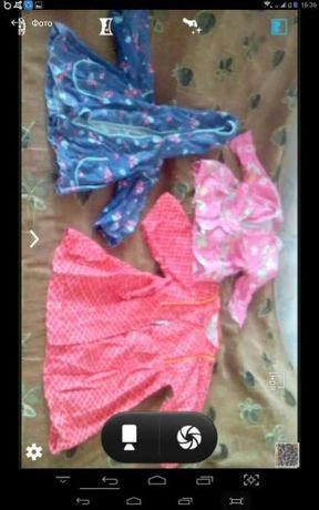 Одежда на девочку от 2-6лет