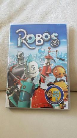 Dvd infantil Robôs