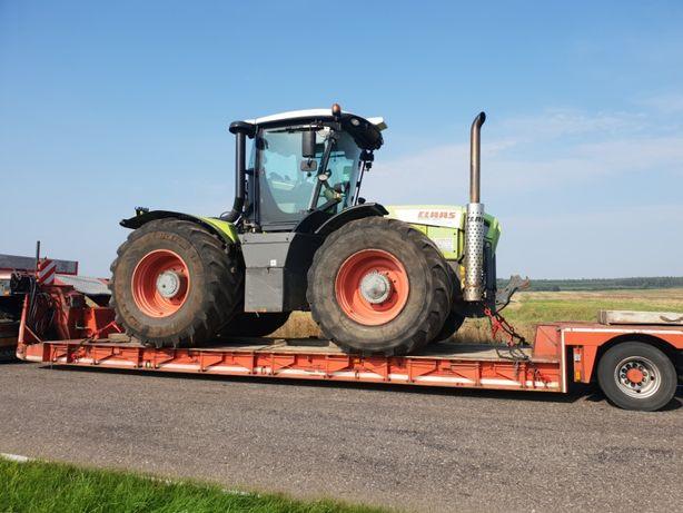 Transport maszyn lawetami transport niskopodwoziowy Pomoc Drogowa