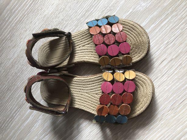 Босоножки сандалии 27 размер кожа