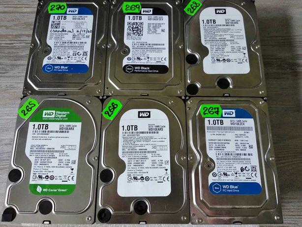 """Жесткий диск HDD SATA Western Digital 3.5"""" 1000GB / 1TB / 1ТБ"""