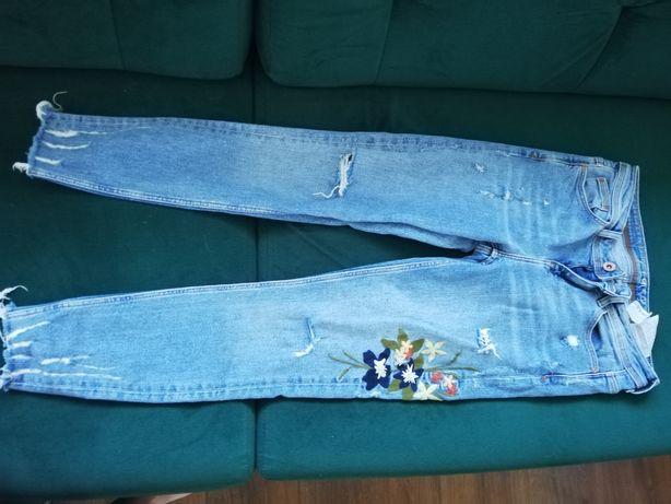 Tanio spodnie z zara