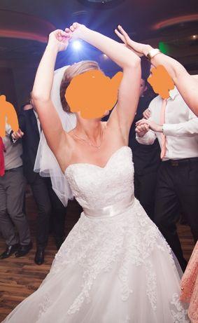 Suknia ślubna Marietta firmy Wings Bridal r. XS (34)