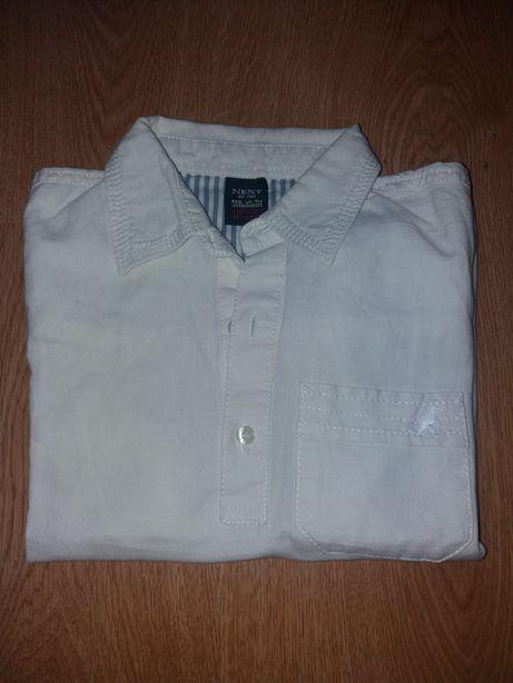 Koszula biała r. 104 next