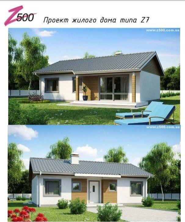 Проект жилого дома типа z7