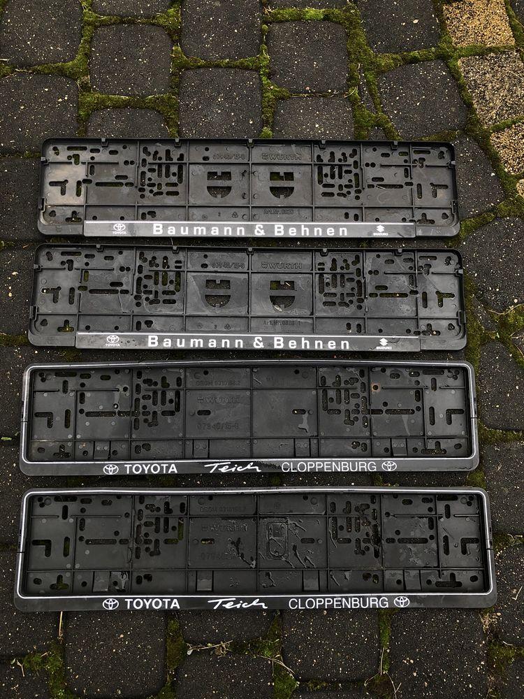 Ramki pod rejestracje tablice rejestracyjną Niemieckie Toyota