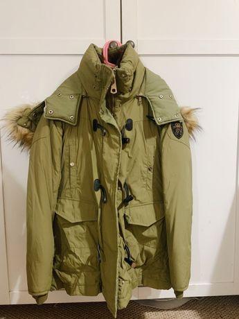 Куртка парка женская Zara размер S/M