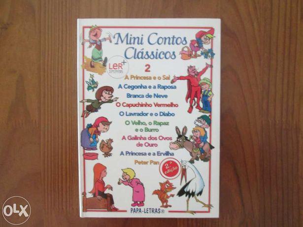 """Vendo livro infantil """"Mini Contos Clássicos"""", editora Papa-Letras"""